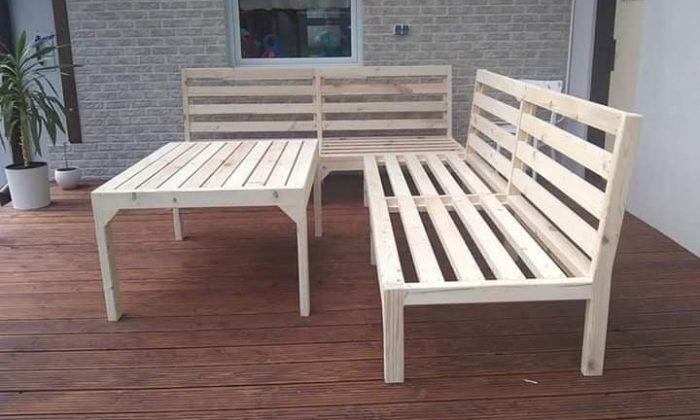 Záhradný nábytok